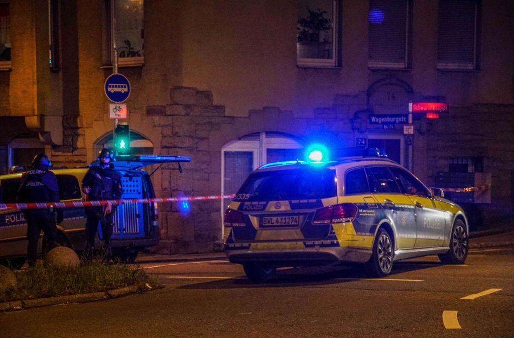 Polizeieinsatz Stuttgart