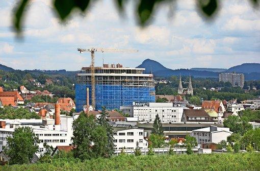 """Die """"Skyline"""" der Hohenstaufenstadt hat ein neues Gesicht bekommen"""