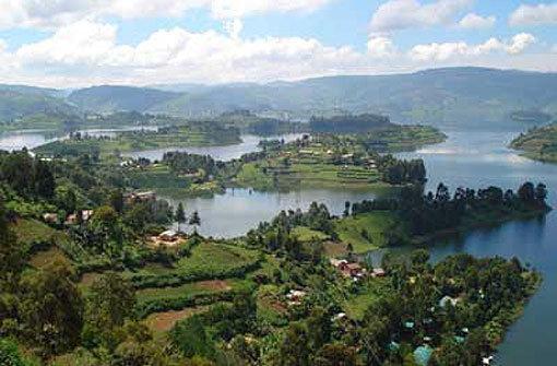 Der Südwesten Ugandas: Eine Landschaft, wie auf Leinwand gebannt. Foto: Kraufmann