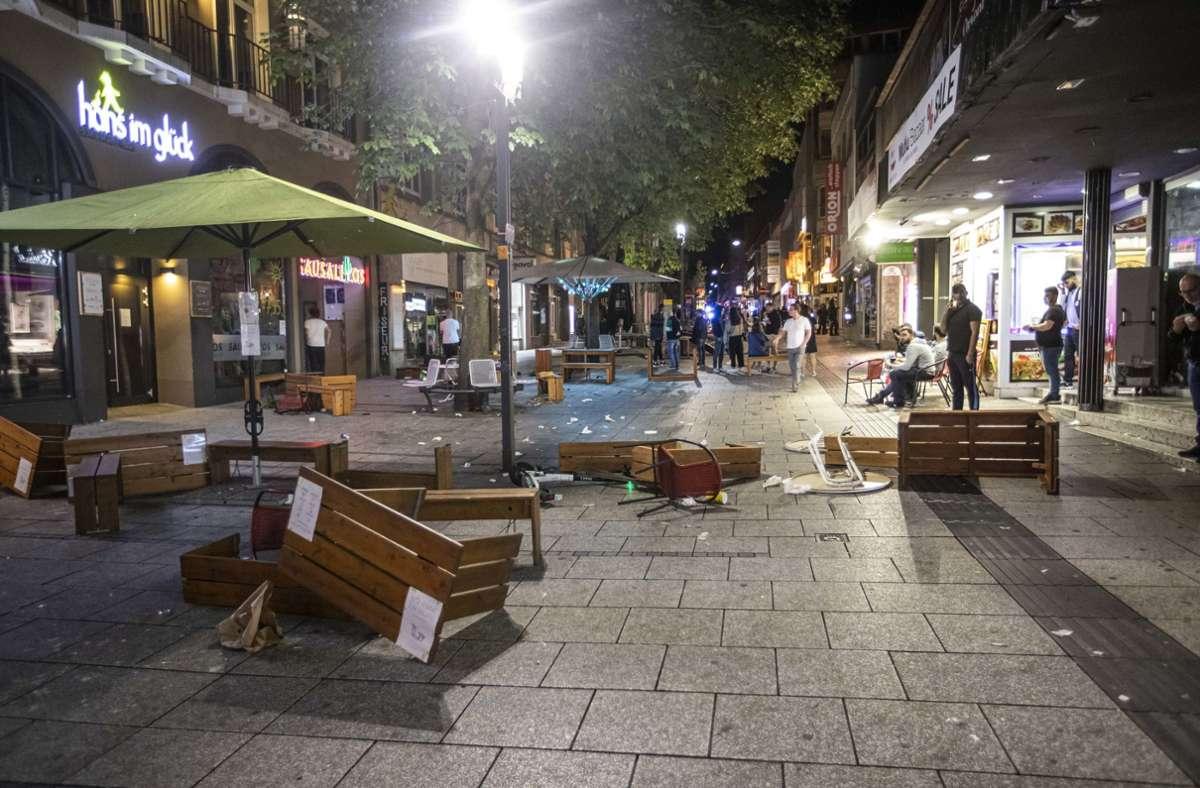 Stuttgart News Randale