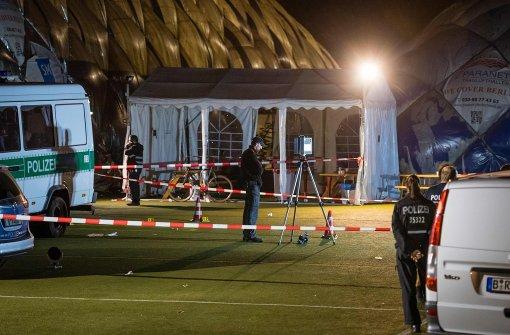 Flüchtling bei Messerattacke erschossen