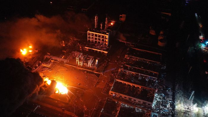 China: 47 Tote nach Chemie-Explosion in China