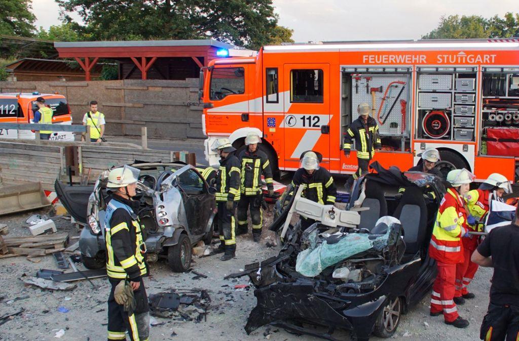 Unfall In Stuttgart