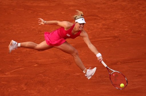 Angelique Kerber bei den French Open Foto: Getty Images Europe