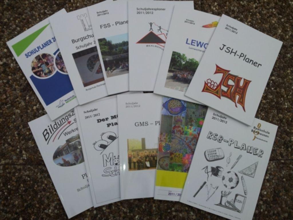 Schulplaner Die Auflage Liegt Bald Bei Zehntausend Heften