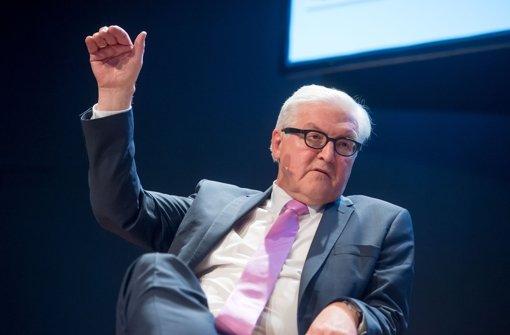 Steinmeier ist derzeit gemeinsam mit Finanzminister Wolfgang Schäuble der beliebteste deutsche Bundespolitiker. Foto: Martin Stollberg
