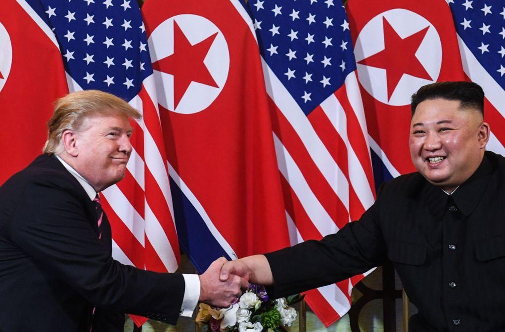 Trump Und Korea
