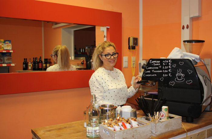 Italienerin in Bad Cannstatt: Espresso hilft in allen Lagen