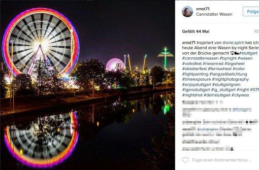 #nofilter: So schön strahlt der Wasen auf Instagram