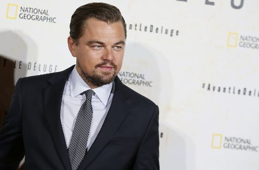 Leonardo DiCaprio spendet eine Million Doller für Hurrikan-Opfer. (Archivbild) Foto: AP