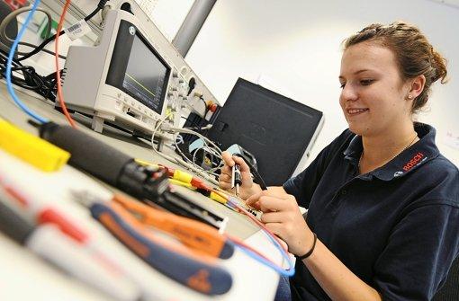 Auch in der Informatik sind die Beschäftigungsaussichten derzeit gut Foto: dpa