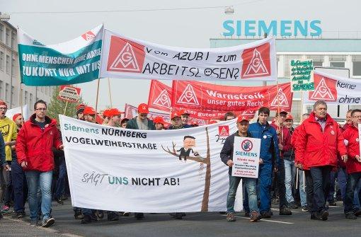 IG Metall kündigt Streik-Höhepunkt an