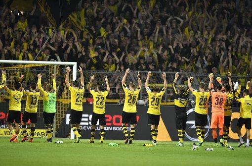 Borussia Dortmund bleibt im Erfolgsmodus