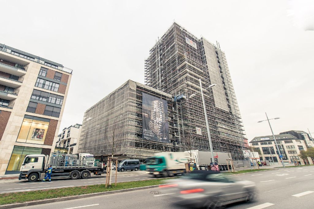 Das Cloud No 7 In Stuttgart Wird Zu Einem Echten Luxus Hochhaus