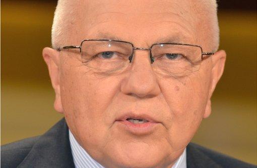 Harald   Kujat lobt Russlands Eingreifen in Syrien