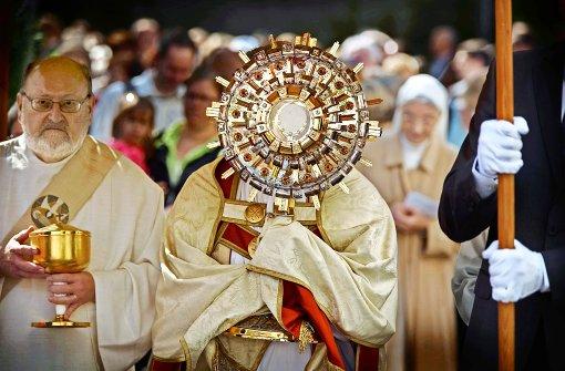 Eine fröhliche Demonstration des Glaubens