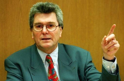Baden-Württembergs früherer Umweltminister Harald Schäfer ist im Alter von 74 Jahren gestorben. Von 1972 bis 1992 hatte Schäfer für die SPD im Bundestag gesessen. Foto: dpa