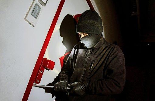 Einbrecher landet im Müllraum