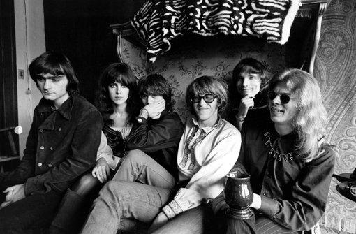 Das Bild der Band Jefferson Airplane aus dem Jahr 1968 zeigt Marty Balin, Grace Slick, Spencer Dryden, Paul Kantner, Jorma Kaukonen und Jack Casady (von links). Foto: AP