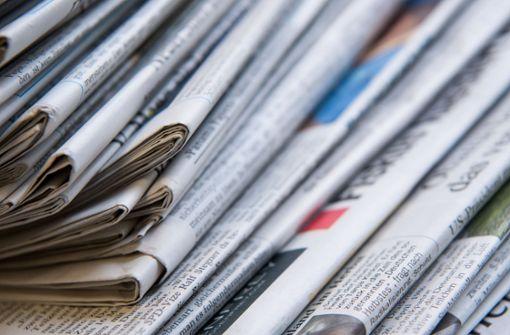 Tageszeitungen Baden Württemberg