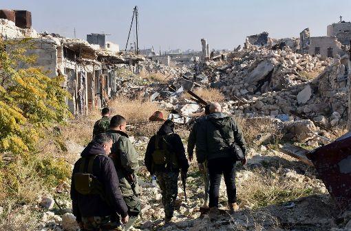 Hunderte Männer aus Aleppo verschwunden