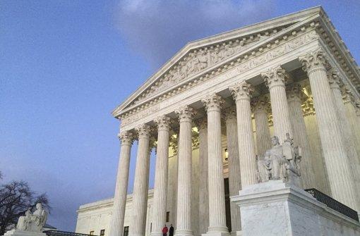 Tod von Scalia überschattet Wahlkampf