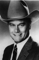 Als skrupelloser J.R. Ewing in der Fernsehserie Dallas wurde Larry Hagman (Foto: undatiert) weltberühmt. Quelle: Unbekannt