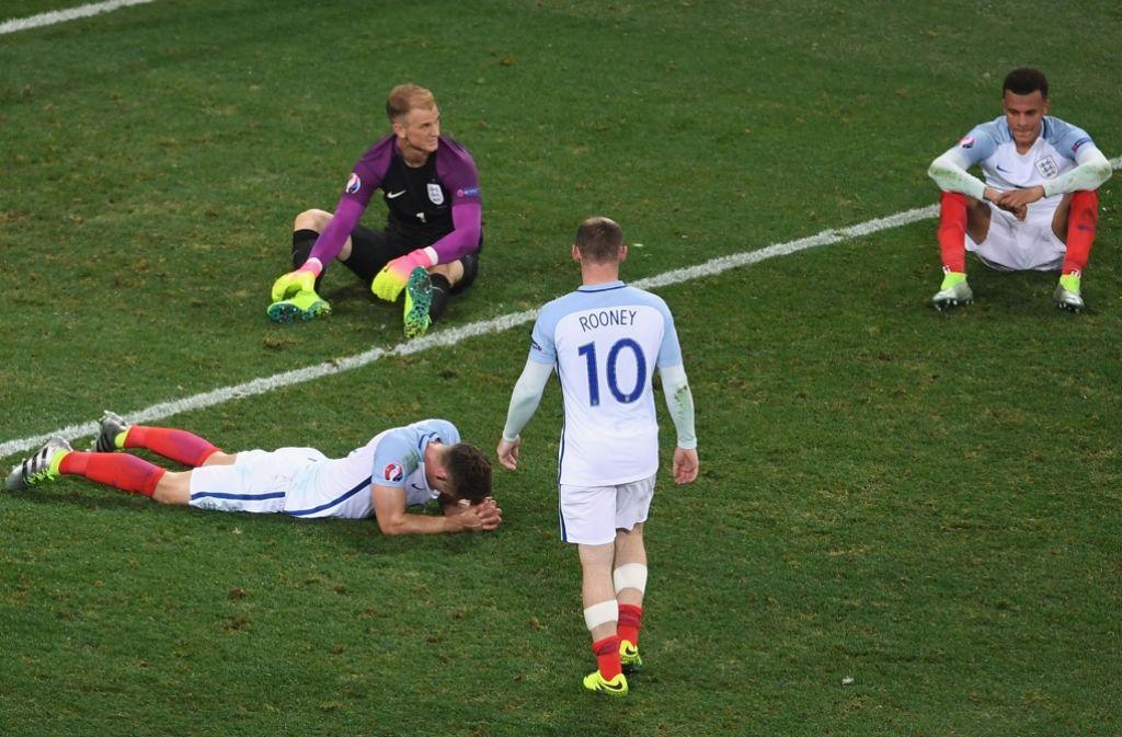 England Nach Dem Em Aus Hilflos Planlos Kopflos Fussball