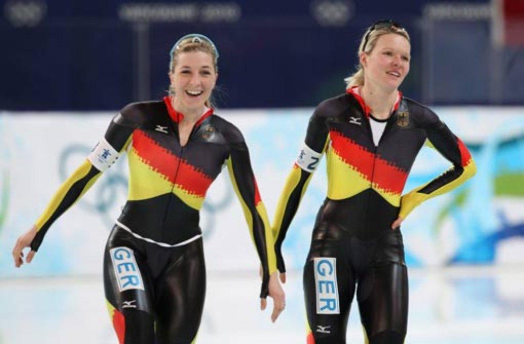 Eisschnelllauf ärger In Sotschi Stephanie Beckert Hält Zu Anni
