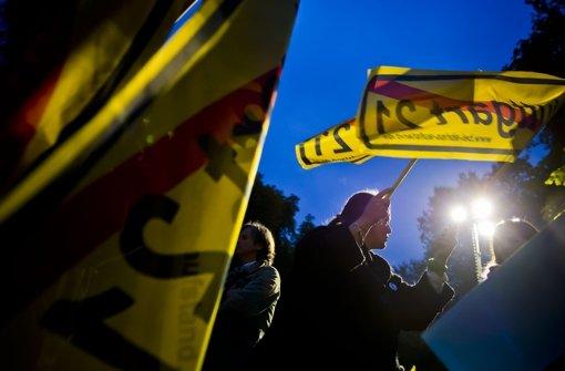 Demonstrationen am Hauptbahnhof sind vielleicht bald Geschichte Foto: Max Kovalenko