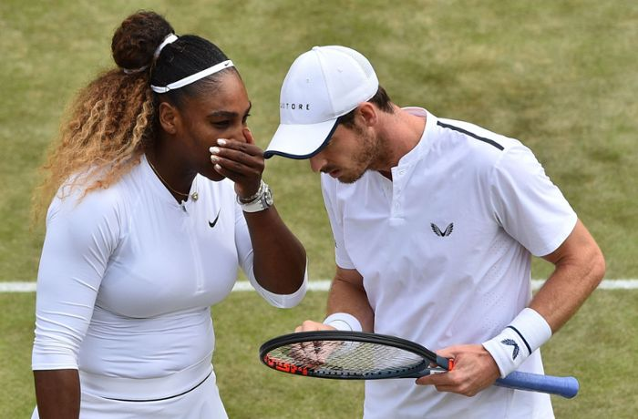 Wimbledon-Mixed: Andy Murray und Serena Williams scheiden aus