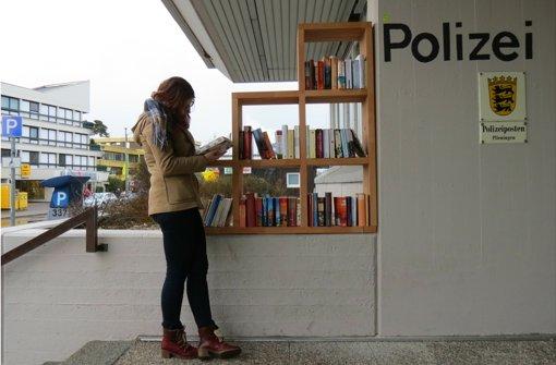Ein Bücherregal für den Bezirk