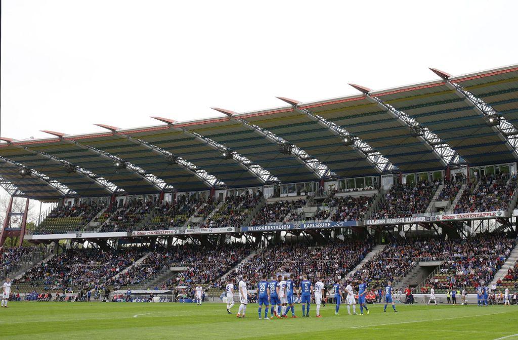 Wildparkstadion Haupttribüne