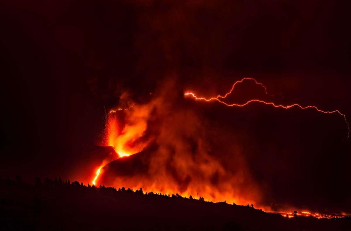 La Palma Weitere Evakuierungen auf Vulkaninsel   Beben der Stärke ...