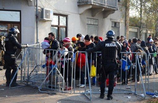 Fünf Bundespolizisten reisen nach Slowenien