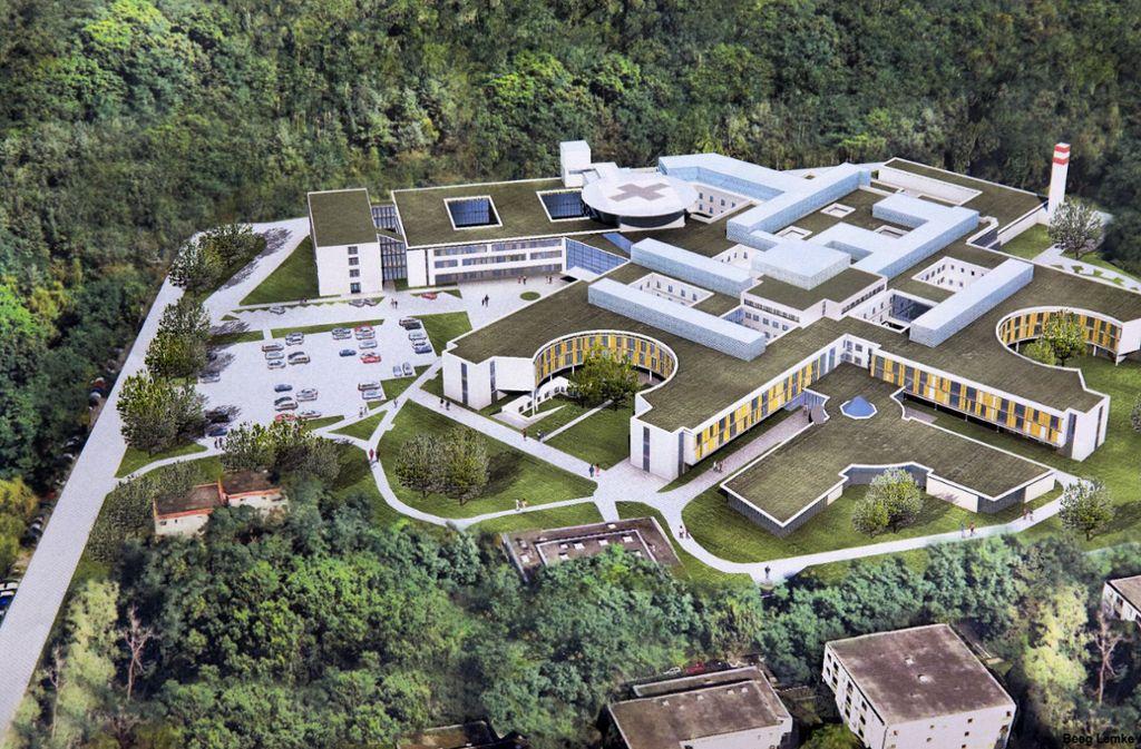 Paracelsus-Krankenhaus in Ostfildern - Die schwere Geburt und manche Krise überstanden - Stuttgarter Nachrichten