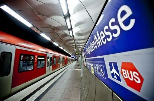 S-Bahn Station Flughafen Messe Foto: Leif Piechowski
