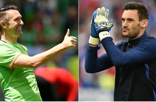 Frankreich gegen Irland im Liveticker