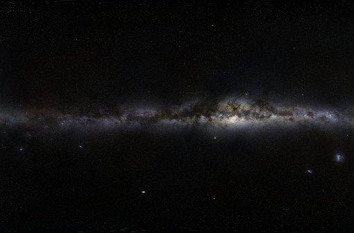Die erste dreidimensionale Karte der Milchstraße