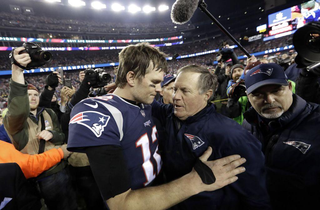 Super Bowl New England Patriots Amerikas Verhasste Genies