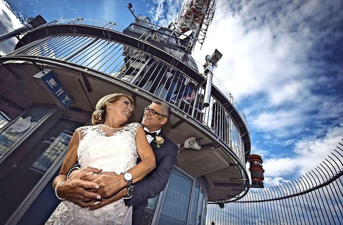 Heiraten in Stuttgart-Degerloch: Der Fernsehturm als