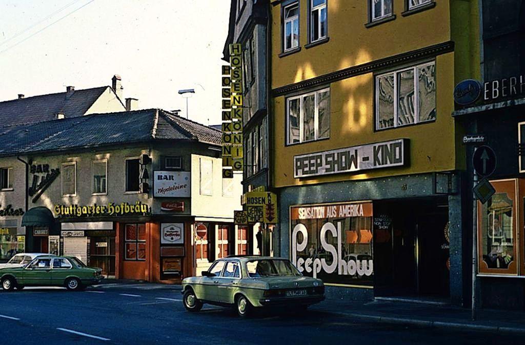 Stuttgart-Album zu den Peep-Shows der 1970er: Die