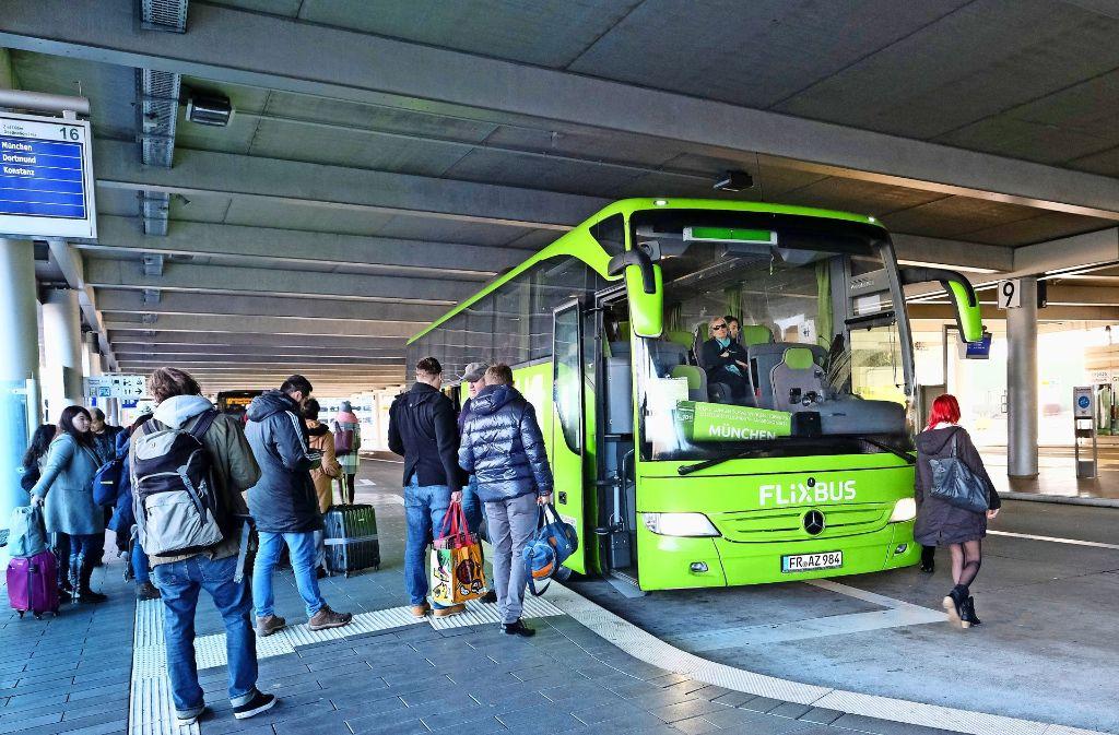 Flixbus Haltestelle Flughafen München