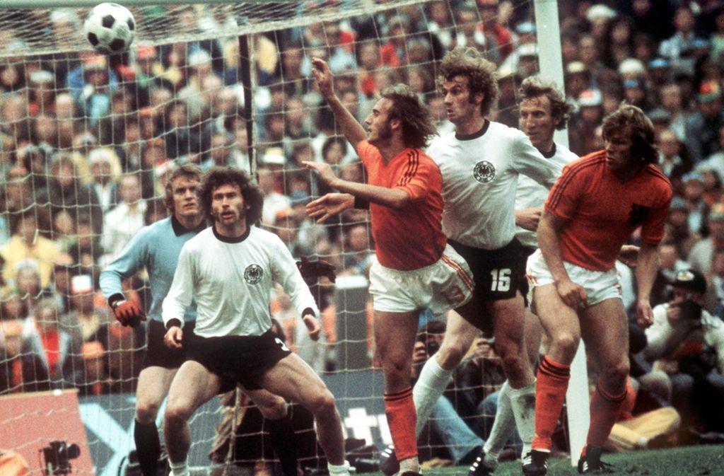 Die Grossen Fussball Duelle Bei Deutschland Gegen Niederlande