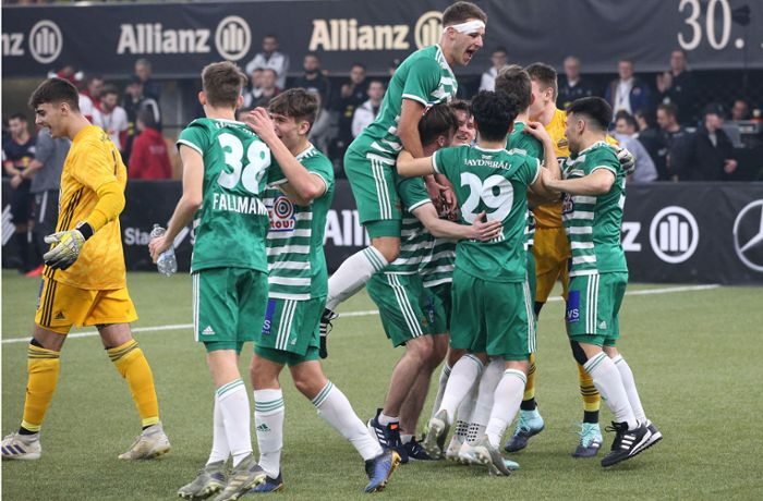 Mercedes-Benz Junior-Cup: Rapid Wien holt sich den Titel in Sindelfingen