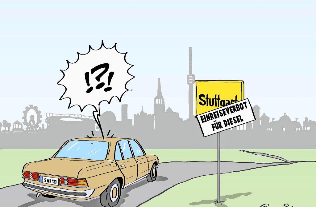 Fahrverbote Stuttgart