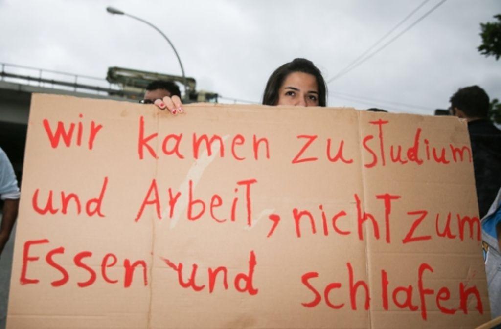 Jobs für Flüchtlinge: Integration von Flüchtlingen in den Arbeitsmarkt -  Wirtschaft - Stuttgarter Nachrichten