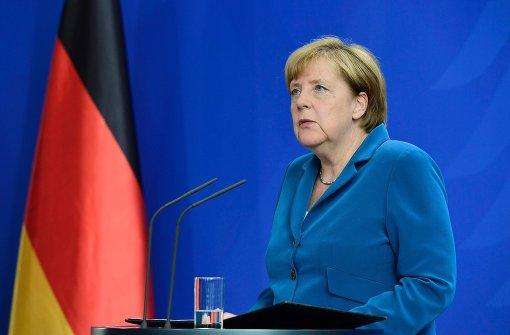 Merkel unterbricht Urlaub