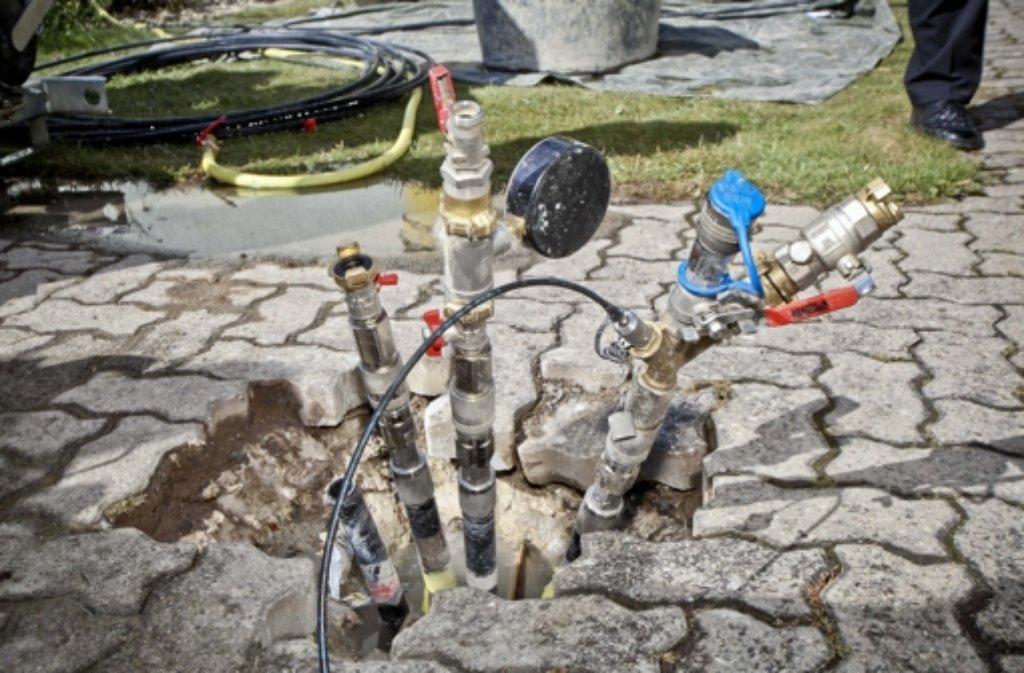 Bohrloch gestopft 39 meter und 37 5 meter weit unter der for Wohnlandschaft unter 3 meter