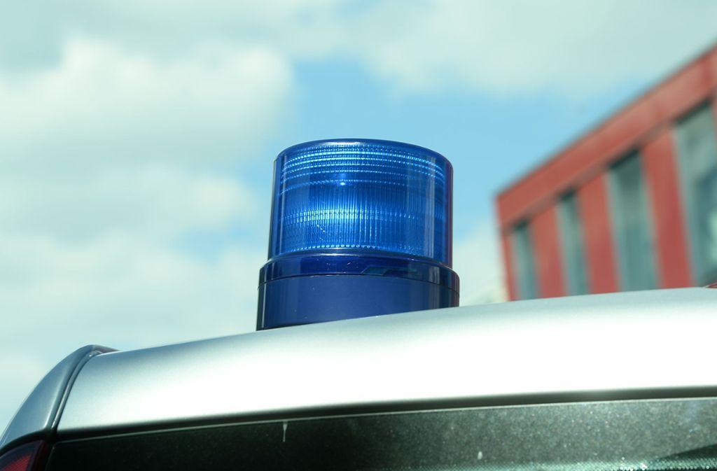 Kontrolle in Leinfelden-Echterdingen - Ein Lastwagen war nur noch Schrott - Stuttgarter Nachrichten